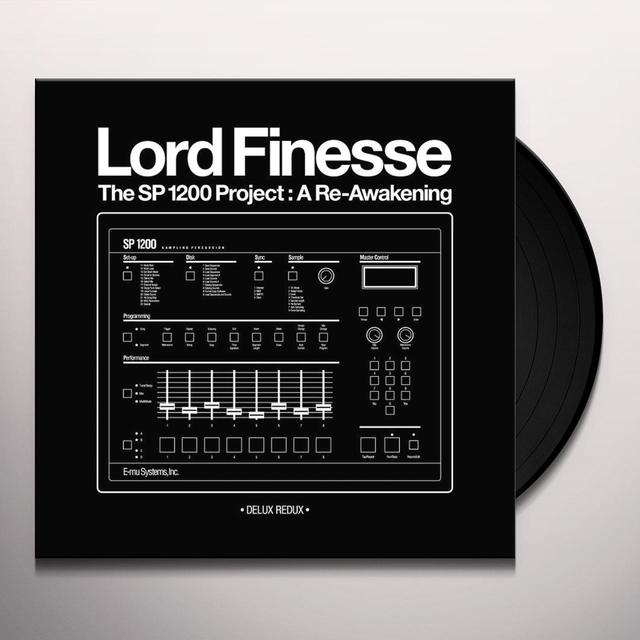 Lord Finesse SP1200 PROJECT: A RE-AWAKENING - DELUXE REDUX Vinyl Record
