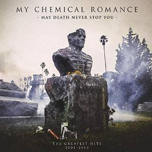My Chemical Romance MAY DEATH NEVER STOP YOU: G.H. 2001-2013 Vinyl Record - UK Import