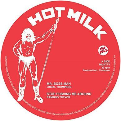 Linval Thompson / Trevor Ranking / Papa Tullo MR BOSS MAN / STOP PUSHING ME AROUND / CURFEW Vinyl Record