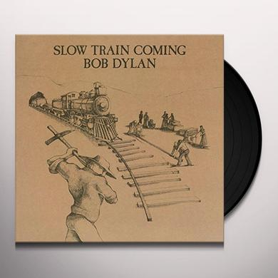 Bob Dylan SLOW TRAIN COMING Vinyl Record - Holland Import