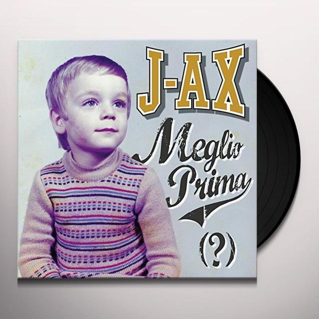 J-Ax MEGLIO PRIMA (GER) Vinyl Record