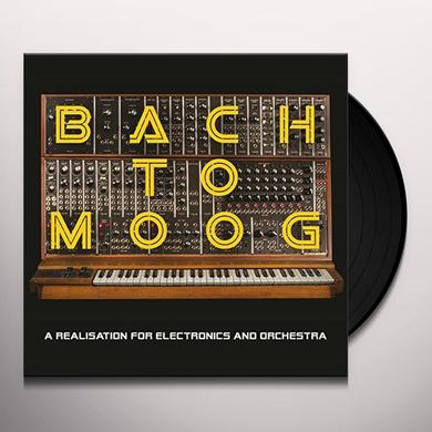 Craig Leon BACH TO MOOG Vinyl Record - Holland Import