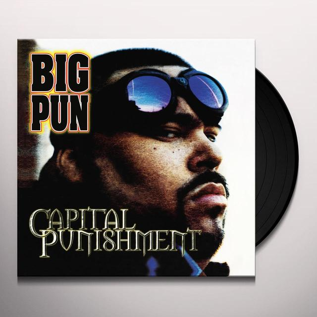 Big Pun CAPITAL PUNISHMENT Vinyl Record