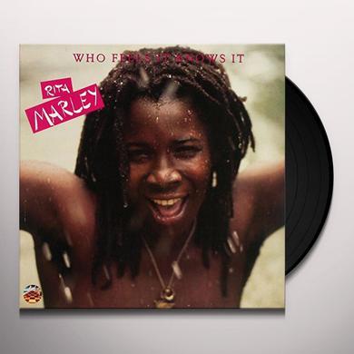 Rita Marley WHO FEELS IT KNOWS IT Vinyl Record