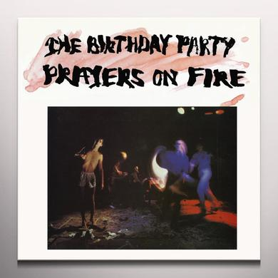 The Birthday Party PRAYERS ON FIRE Vinyl Record - Red Vinyl, White Vinyl