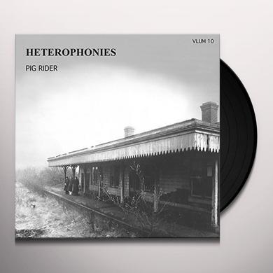 PIG RIDER HETEROPHONIES Vinyl Record