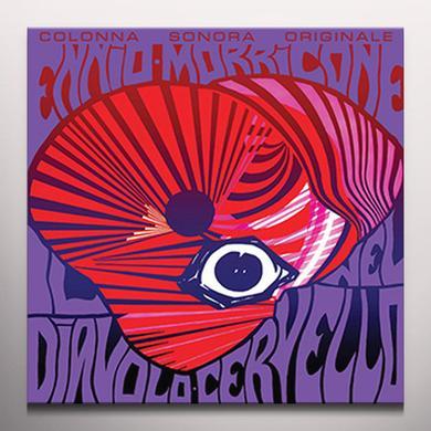 Ennio Morricone IL DIAVOLO NEL CERVELLO / O.S.T. Vinyl Record - Purple Vinyl, Red Vinyl