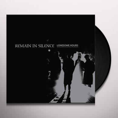 Remain In Silence LONESOME HOURS - THE MONUMENT & SEVEN ROOMS RECORD Vinyl Record