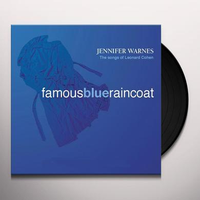 Jennifer Warnes FAMOUS BLUE RAINCOAT Vinyl Record - 180 Gram Pressing, Reissue