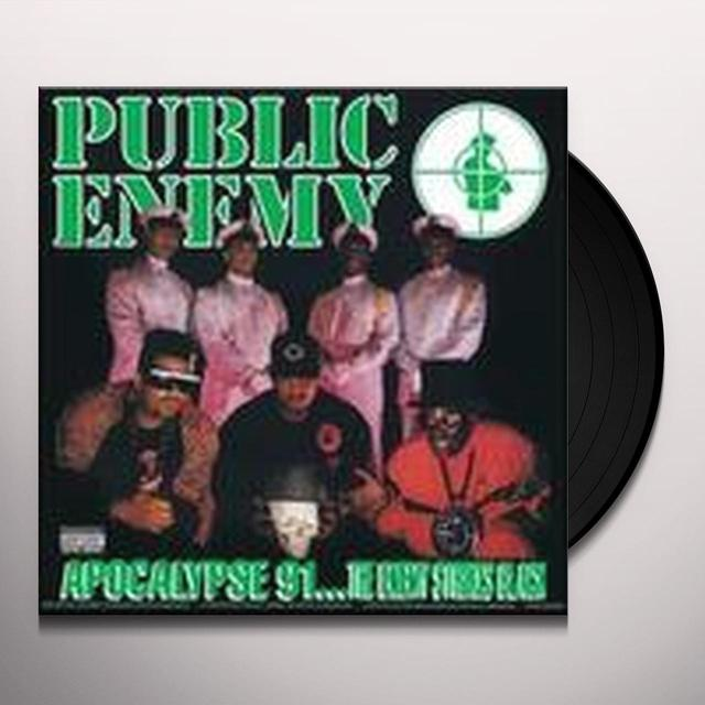 Public Enemy APOCALYPSE 91:THE ENEMY STRIKES BLACK Vinyl Record