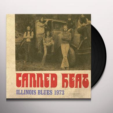 Canned Heat ILLINOIS BLUES 1973 Vinyl Record