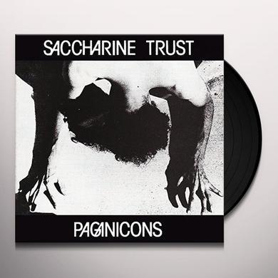 Saccharine Trust PAGAN ICONS Vinyl Record