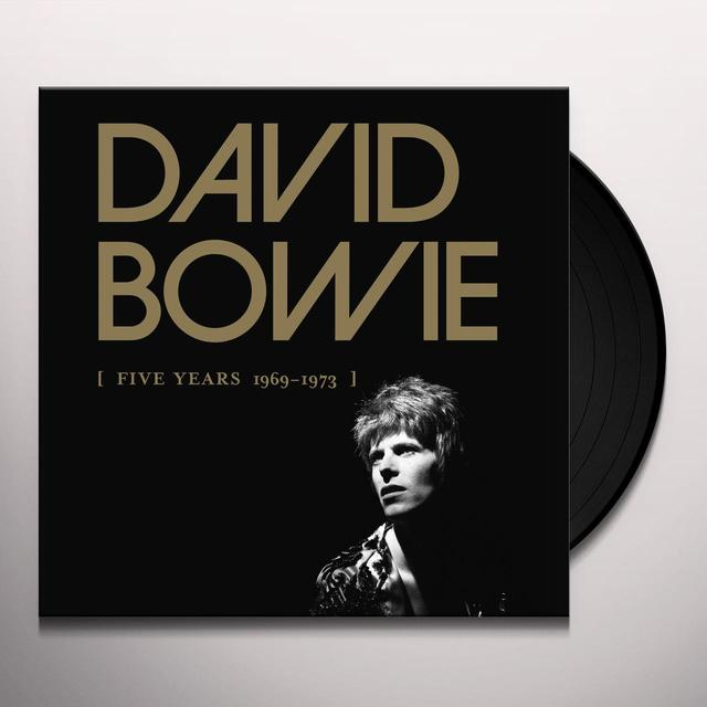 David Bowie FIVE YEARS 1969-1973 (BOX) Vinyl Record