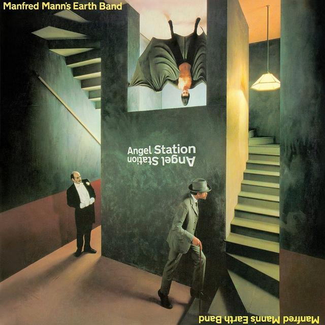 Manfred Mann'S Earth Band ANGEL STATION Vinyl Record - UK Import