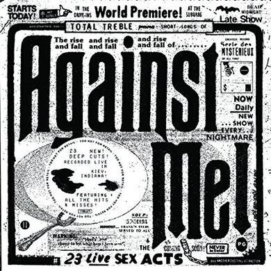 Against Me 23 LIVE SEX ACTS Vinyl Record