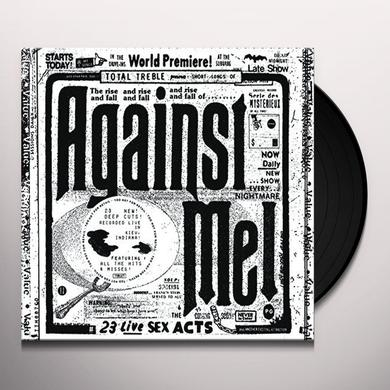 Against Me 23 LIVE SEX ACTS Vinyl Record - UK Import