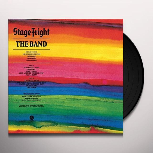 The Band STAGE FRIGHT Vinyl Record - UK Release