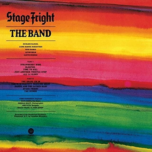 The Band STAGE FRIGHT Vinyl Record - UK Import
