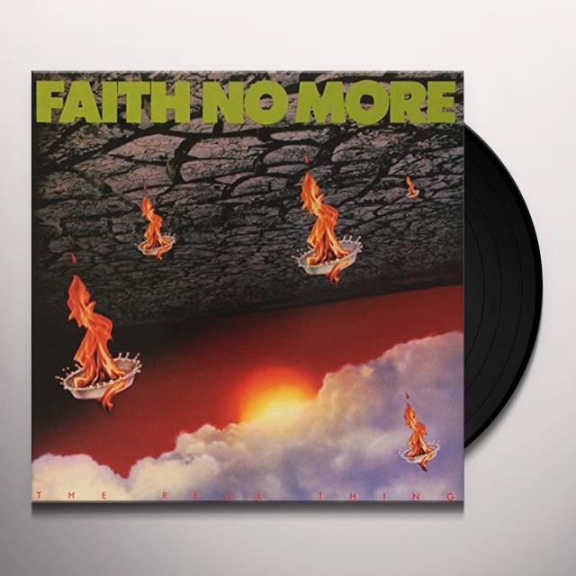 Faith No More REAL THING Vinyl Record - UK Release