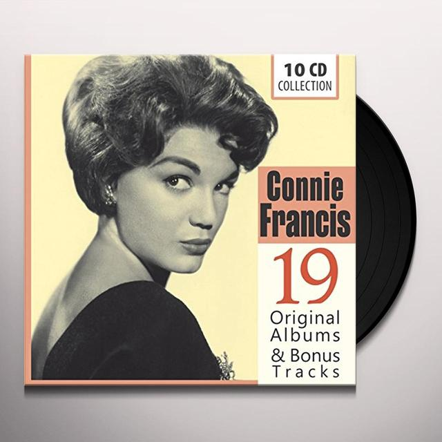 Connie Francis 19 ORIGINAL ALBUMS & BONUS  (GER) Vinyl Record - 10 Inch Single