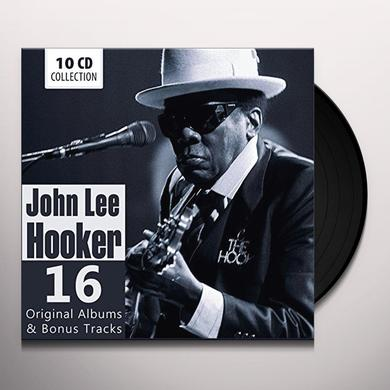 John Lee Hooker 16 ORIGINAL ALBUMS & BONUS  (GER) Vinyl Record - 10 Inch Single