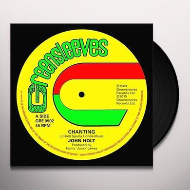 John Holt CHANTING Vinyl Record - UK Import