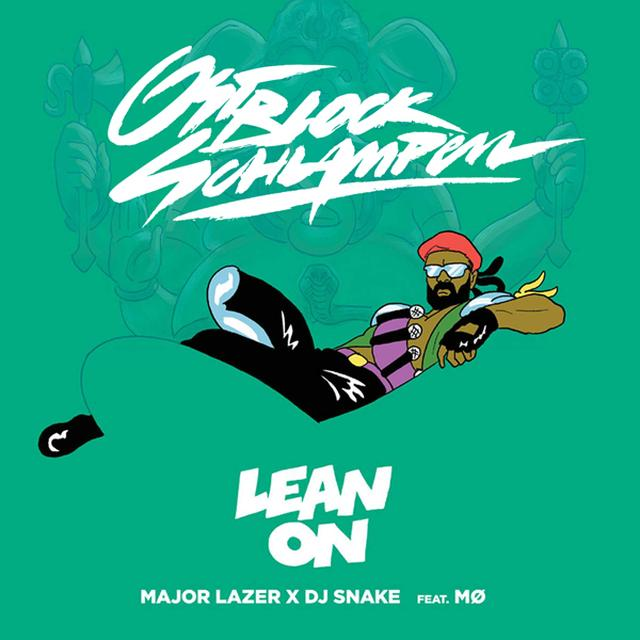 Major Lazer LEAN ON Vinyl Record - UK Import