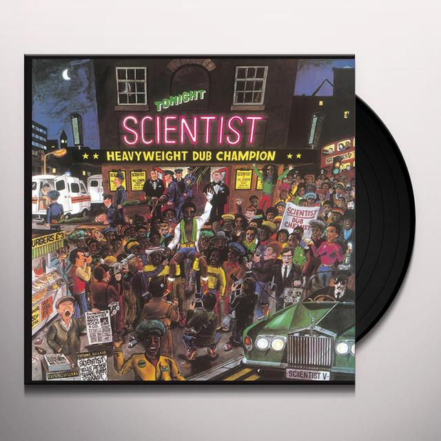Scientist HEAVYWEIGHT DUB CHAMPION Vinyl Record