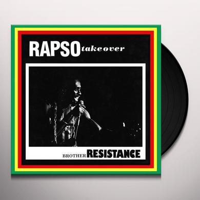 BROTHER RESISTANCE RAPSO TAKE OVER Vinyl Record