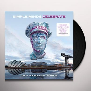 Simple Minds CELEBRATE-LIVE AT THE SSE HYDRO Vinyl Record