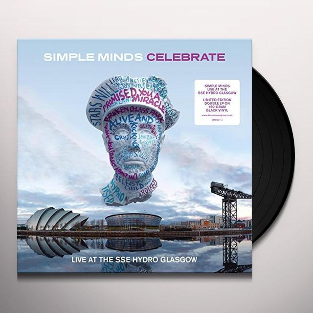 Simple Minds CELEBRATE-LIVE AT THE SSE HYDRO Vinyl Record - UK Import