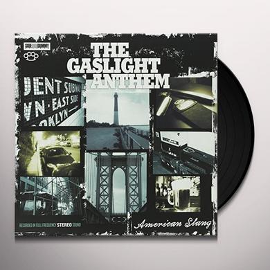 The Gaslight Anthem AMERICAN SLANG Vinyl Record - UK Import