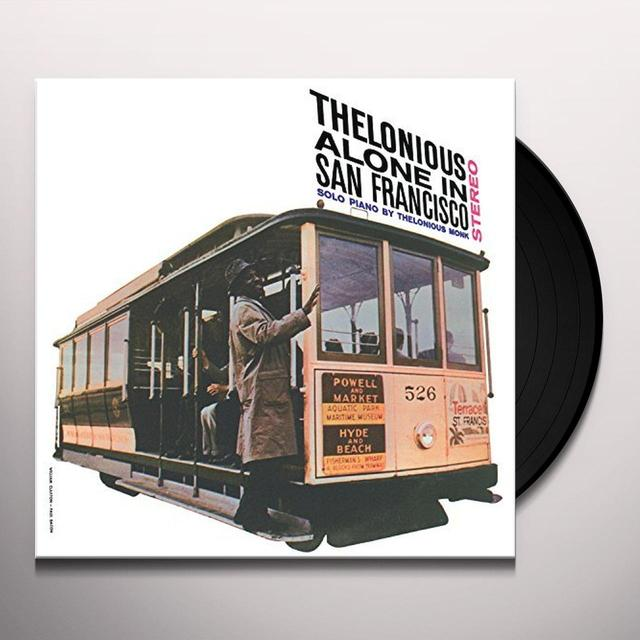 Thelonious Monk ALONE IN SAN FRANCISCO Vinyl Record - UK Import