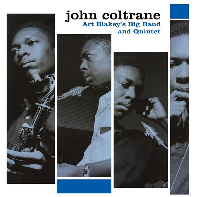 John Coltrane ART BLAKEY'S BIG BAND & QUINTET Vinyl Record