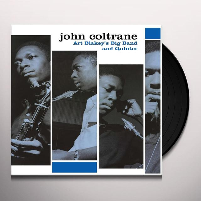 John Coltrane ART BLAKEY'S BIG BAND & QUINTET Vinyl Record - UK Import