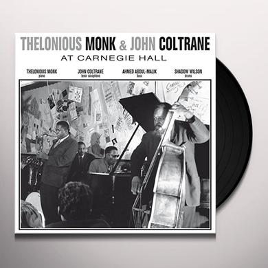 Thelonious Monk & John Coltrane AT CARNEGIE HALL NOVEMBER 29 1957 Vinyl Record - UK Import