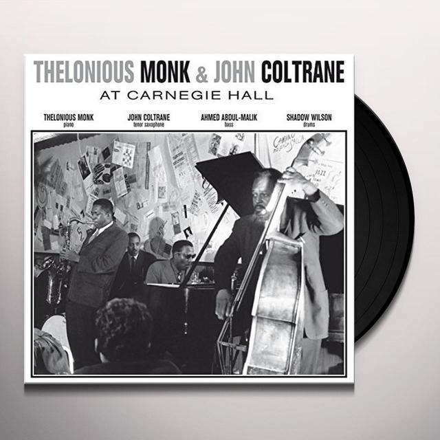Thelonious Monk & John Coltrane AT CARNEGIE HALL NOVEMBER 29 1957 Vinyl Record - UK Import