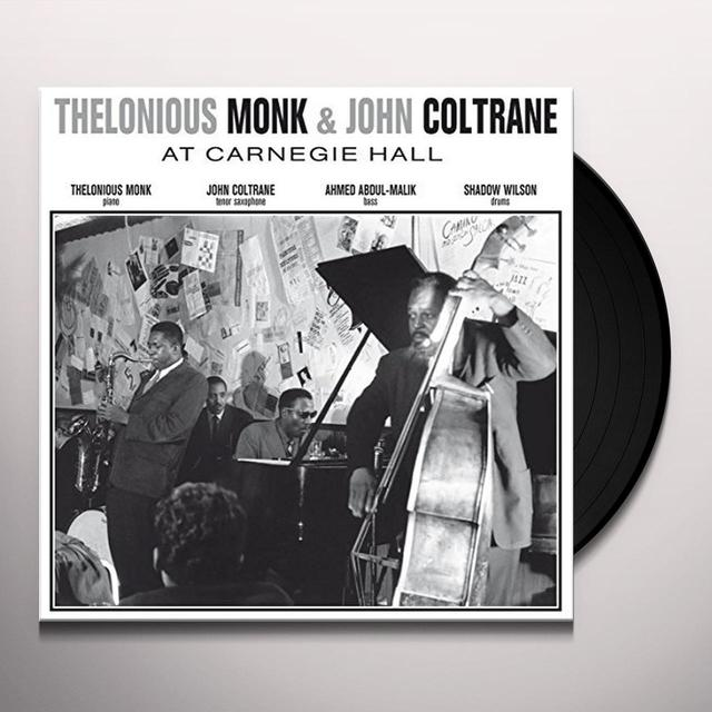 Thelonious Monk & John Coltrane AT CARNEGIE HALL NOVEMBER 29 1957 Vinyl Record