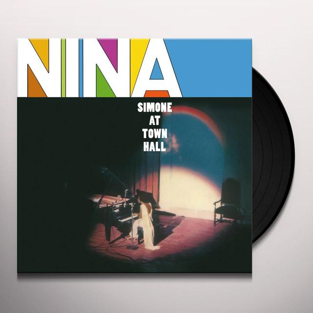 Nina Simone AT TOWN HALL Vinyl Record - UK Import