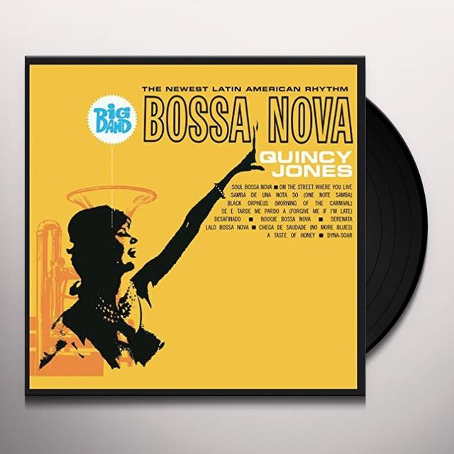 Quincy Jones BIG BAND BOSSA NOVA Vinyl Record - UK Import