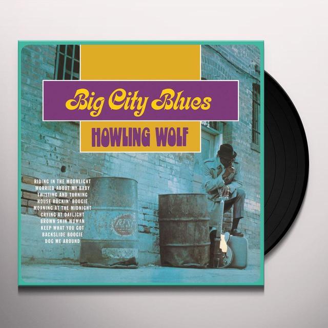Howlin Wolf BIG CITY BLUES Vinyl Record