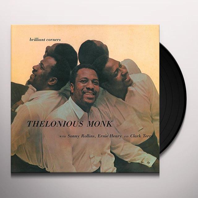 Thelonious Monk / Sonny Rollins BRILLANT CORNERS Vinyl Record - UK Import