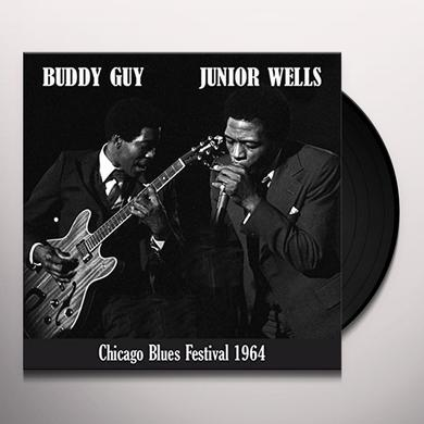 Buddy Guy & Junior Wells CHICAGO BLUES FESTIVAL Vinyl Record