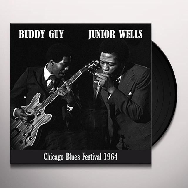 Buddy Guy & Junior Wells CHICAGO BLUES FESTIVAL Vinyl Record - UK Import