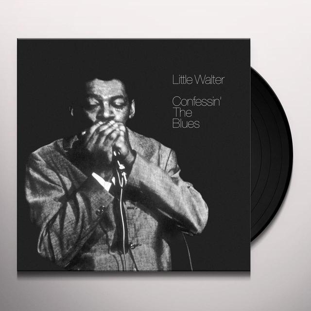 Little Walter CONFESSIN THE BLUES Vinyl Record - UK Import