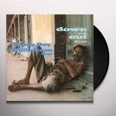 Sonny Boy Williamson DOWN & OUT BLUES Vinyl Record - UK Import