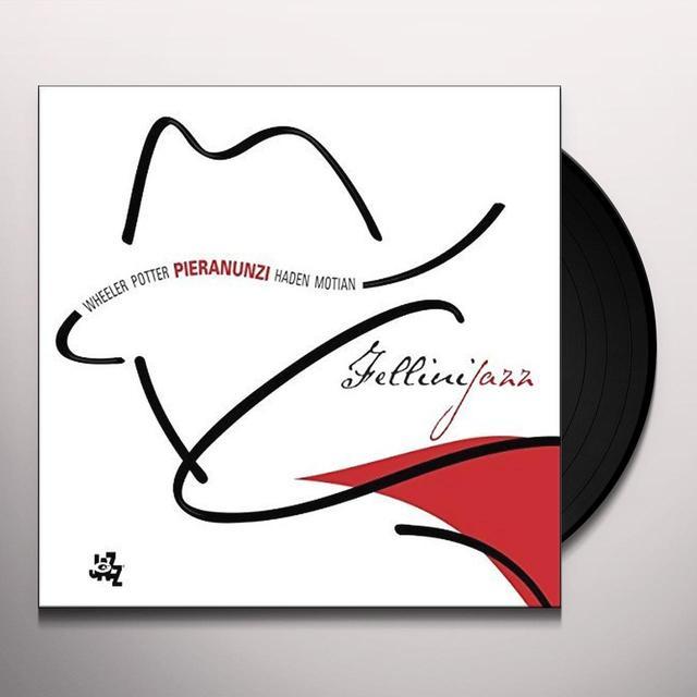Enrico Pieranunzi FELLINIJAZZ Vinyl Record - Italy Import