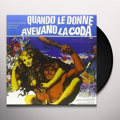 QUANDO LE DONNE AVEVANO LA CODA / O.S.T. (ITA) QUANDO LE DONNE AVEVANO LA CODA / O.S.T. Vinyl Record
