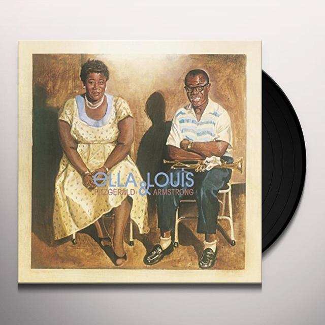 Ella Fitzgerald & Louis Armstrong  ELLA & LOUIS Vinyl Record - UK Import
