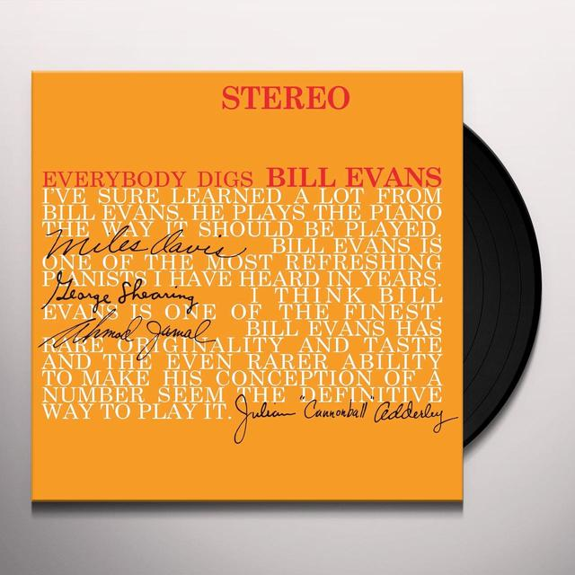 EVERYBODY DIGS BILL EVANS Vinyl Record - UK Import